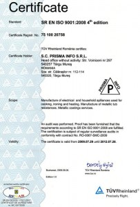 Certificare iso 9001:2008 4th-edition