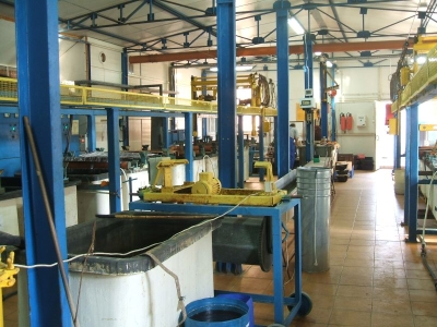 Galvanisatione, nickel plating, brass plating, zinc plating 01