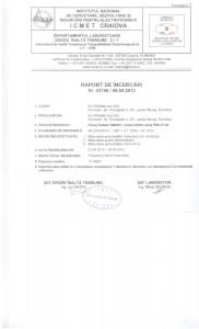 Accreditation Certificate no. Li 450/2010