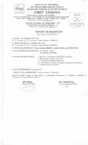 Certificat de acreditare nr. Li 529/2011