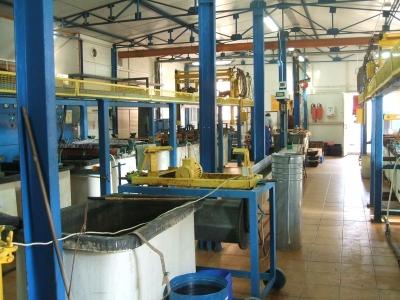 Galvanisatione, nickel plating, brass plating, zinc plating 01