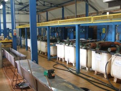 Galvanisatione, nickel plating, brass plating, zinc plating 05