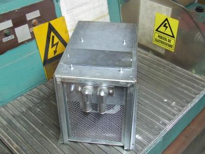 Tram Cabin Fan Air Heater
