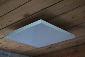 Panou radiant pentru celulele de tavan fals 04